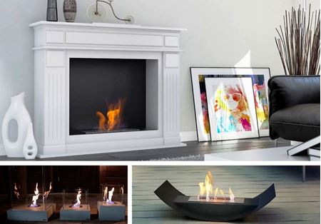 High quality bio fireplaces biofuel fires and bioethanol fireplaces with bio fuel insert box.
