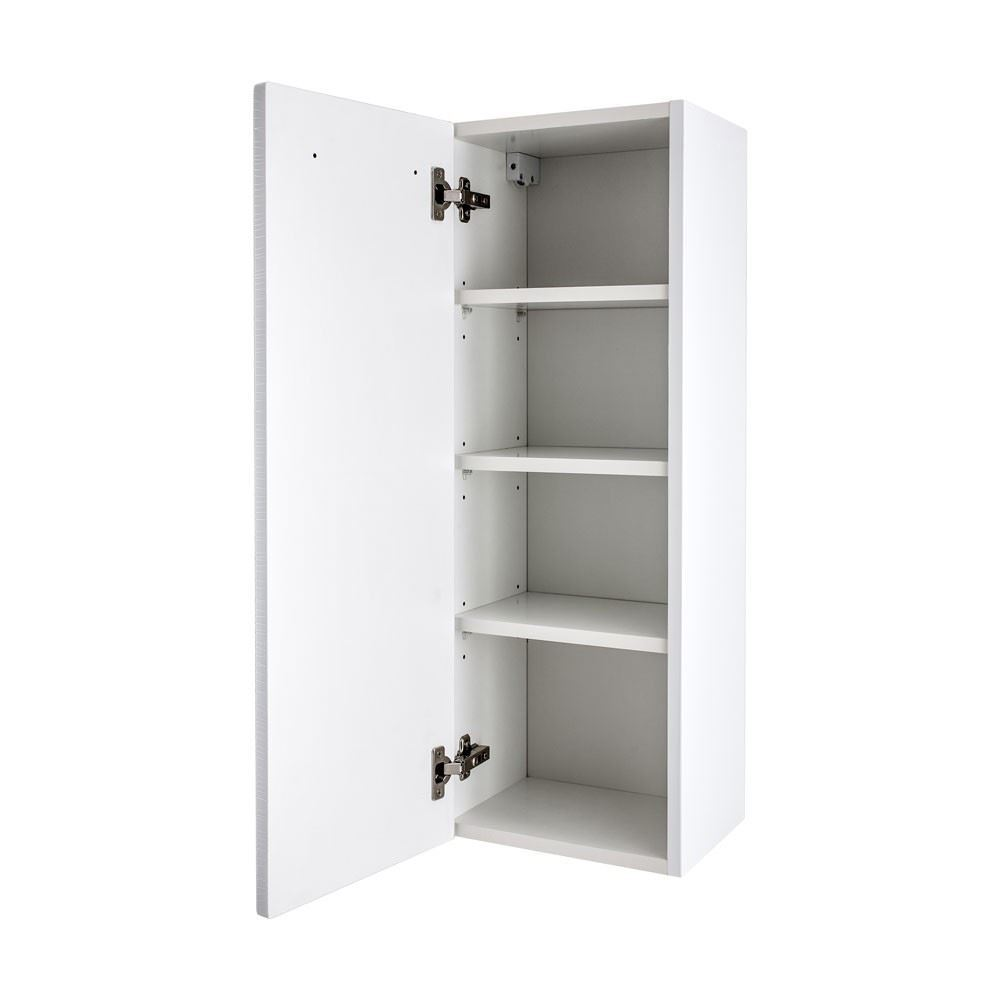 bathroom avenue white wall mounted bathroom storage unit