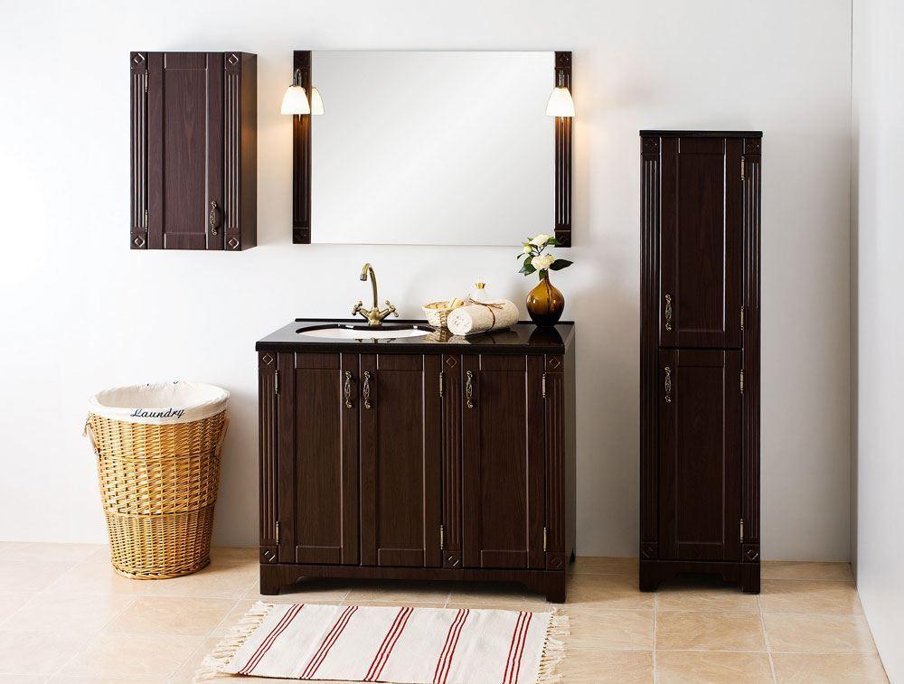 Home / Bathroom Vanities & Storage Cabinets / Vanity Unit Wenge With ...