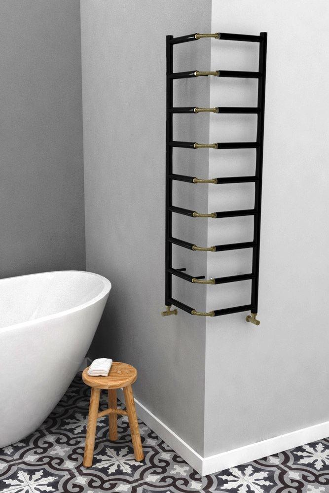 Bathroom Avenue Vertical Small Bathroom Radiator Flexible