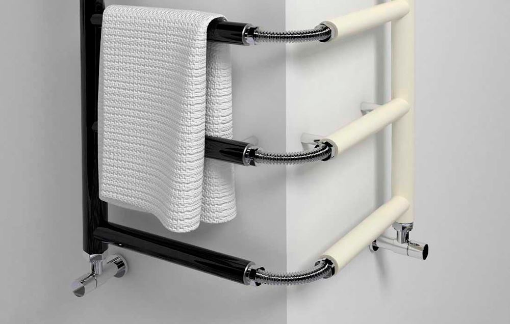 Bathroom Avenue Vertical Small Bathroom Radiator Flexible