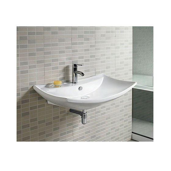Bathroom Avenue Designer Modern Counter Top Wall Mounted Wash Basin Capri