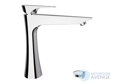 Itanian Counter Top Basin Mixer Tap Tall Chrome Diva