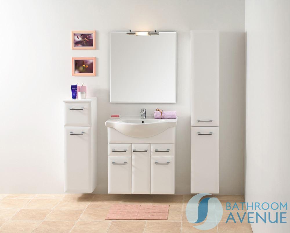 Designer Vanity Units For Bathroom. Timber Vanity Unit In A Dark ...
