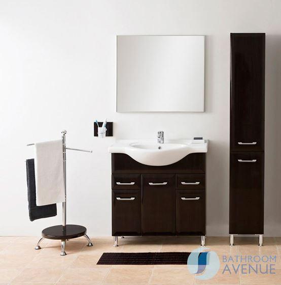 vanity unit storage cabinet bathroom laundry hamper cabinet tall