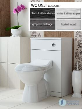Wc toilet cabinet Tramonto
