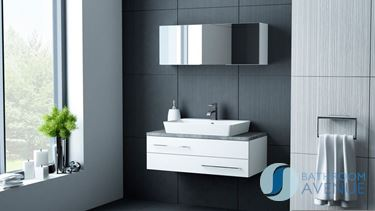 Full Size of Bathroom Design Modern Narrow Bathrooms Remodeling The  Presenting Black Gloss Floating Cabinet Vanities ...