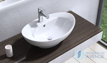 Oval Counter Top Wash Basin Domenica