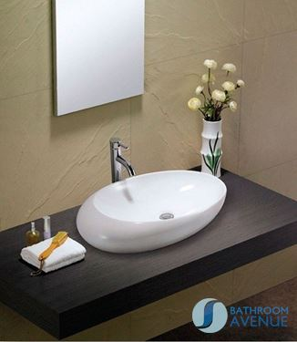 Modern Ceramic Counter Top Bowl Enrica