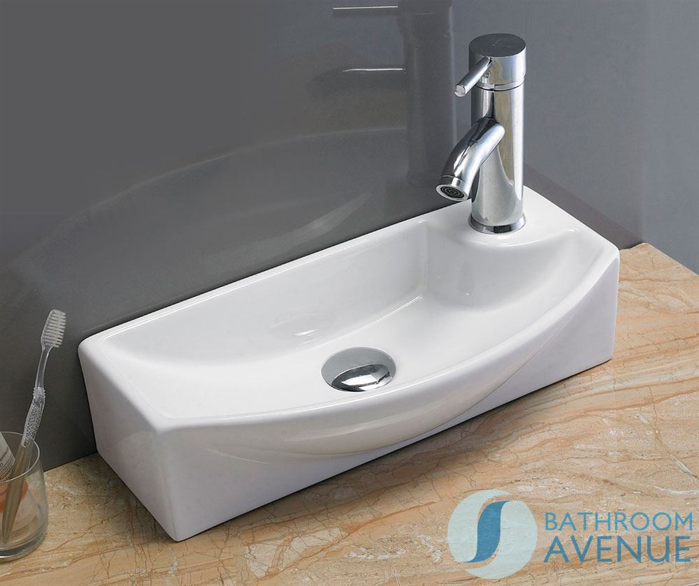 Small Wash Basin Price : Home / Wash Basins / Ultra Small Cloakroom Wash Basin Gianna