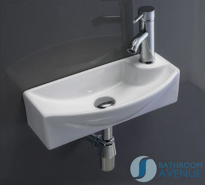 Wash Basins For Small Bathrooms : Home / Wash Basins / Ultra Small Cloakroom Wash Basin Gianna