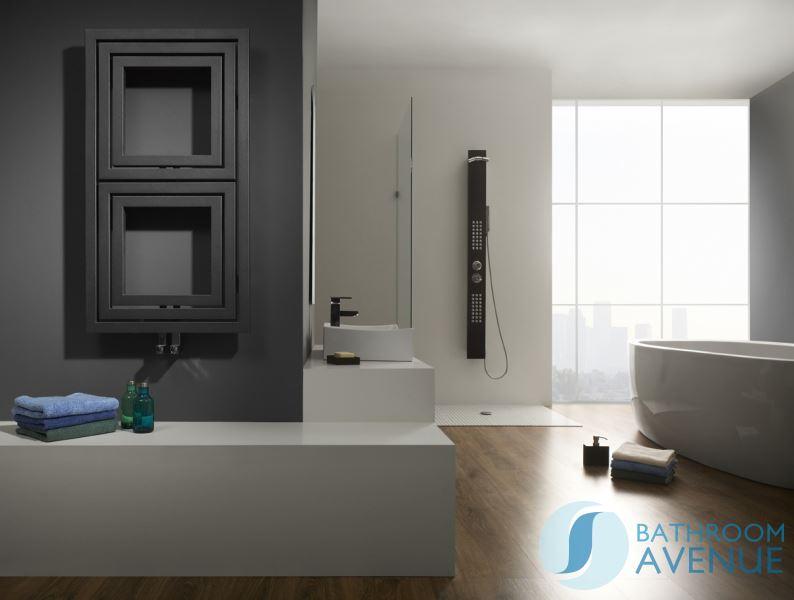 Modern Vertical Horizontal Bathroom Radiator