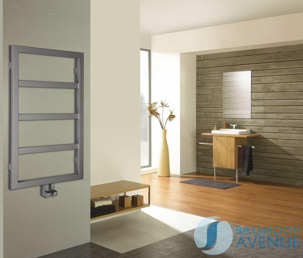 Designer vertical bathroom radiator modern minimalist for Household radiator design