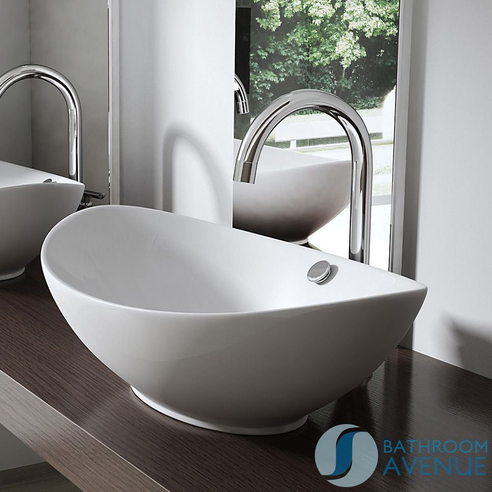 Modern sink furniture - Modern Oval Counter Top Wash Basin Giovanna Bathroom Avenue