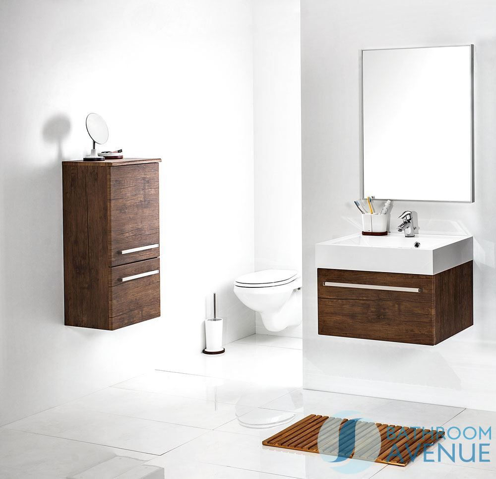 Modern wall hung bathroom cabinet antique wood contemporary wall hung bathroom storage unit - Antique bathroom wall cabinets ...
