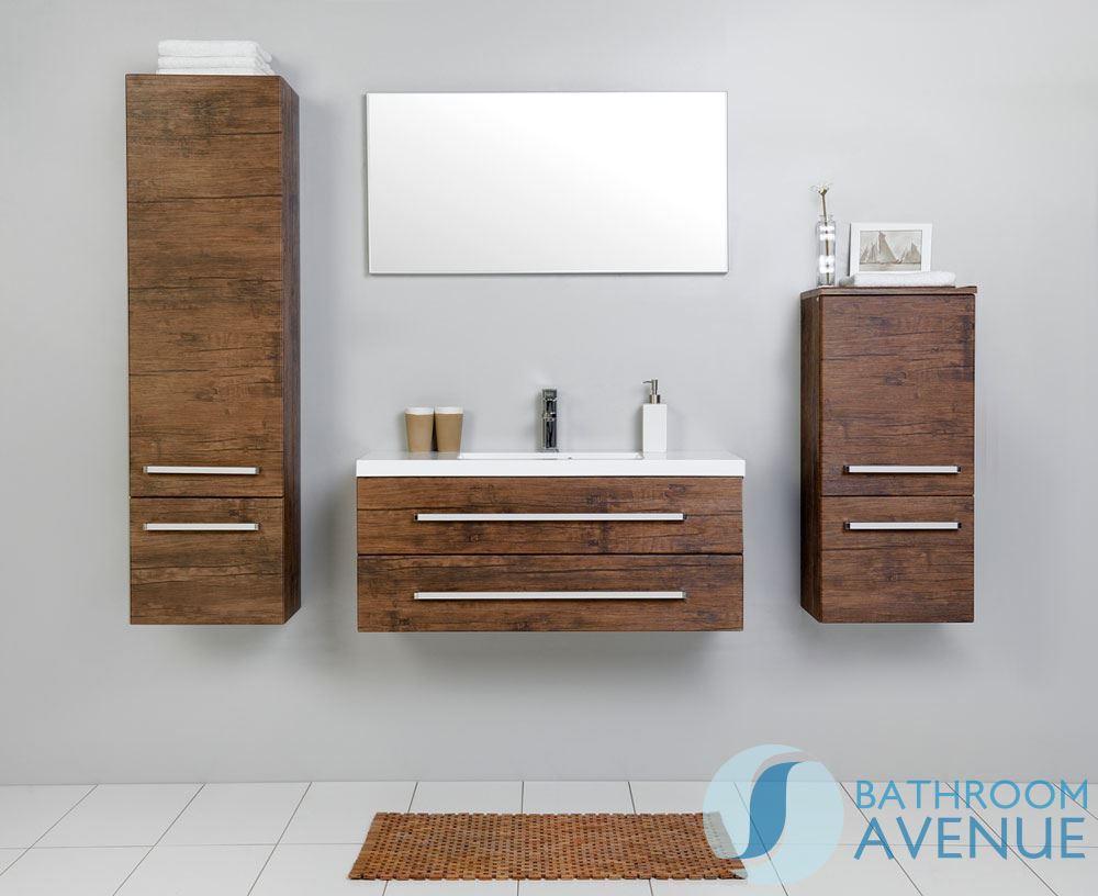 Bathroom wall hung tall cabinet antique wood giuseppine unique bathroom tall storage unit - Antique bathroom wall cabinets ...