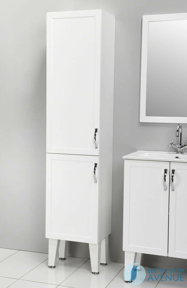 cabinet traditional freestanding tall bathroom cabinet white with