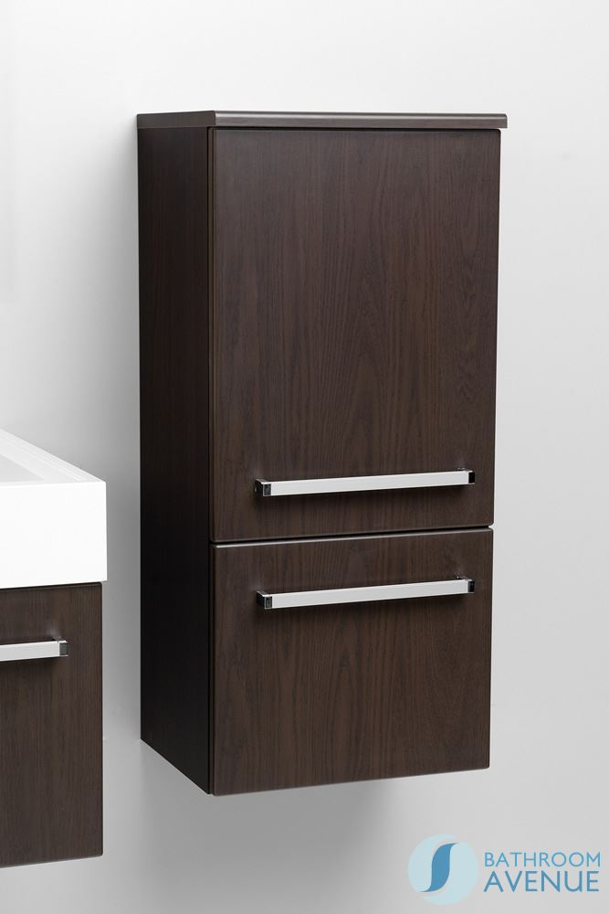 Wenge modern bathroom wall cabinet francesca wenge for Bathroom storage cabinet