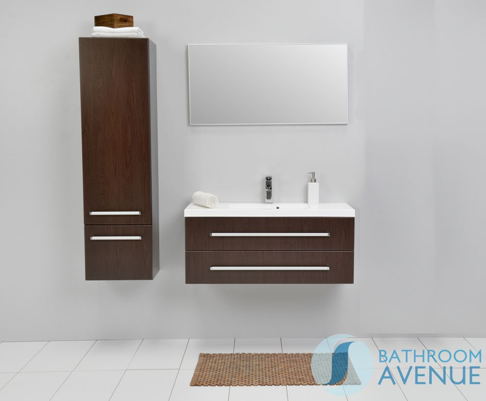 unit wenge francesca wenge tall bathroom wall cabinet bathroom