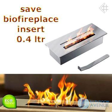 Bio fuel burner insert box small
