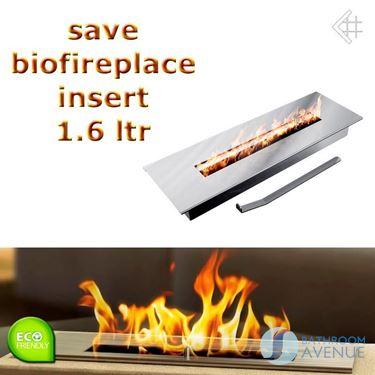 Bio fuel burner insert box large