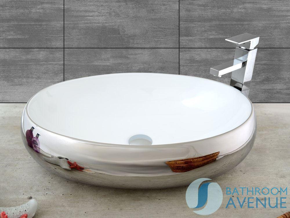 Contemporary ceramic counter top wash basin oval simona for Bathroom wash basin counter designs