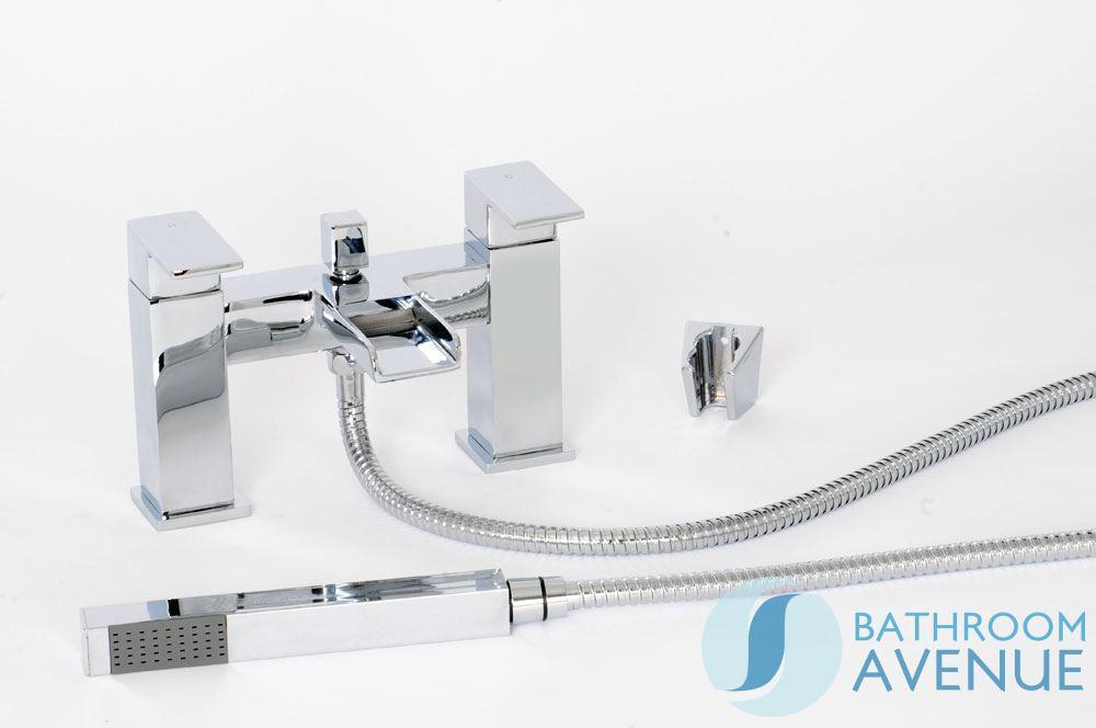 modern waterfall bath shower mixer balfron deck mounted bath mixer with shower set san ei sk30x berkualitas bermerk