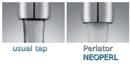 Mixer-tap-areator