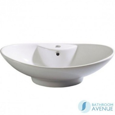 Contemporary Counter Top Wash Basin Oval Rosa