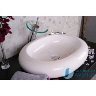 Oval Counter Top Ceramic Wash Basin Massima