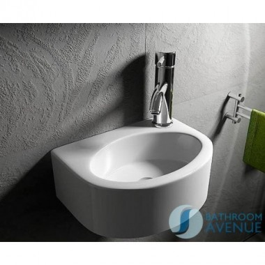 Ultra Small Counter Top or Wall Mounted Wash Basin Velia