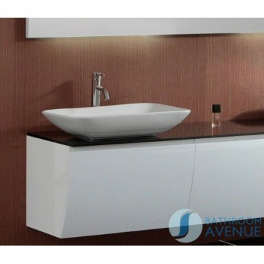 Rectangular Counter Top Basin Diamante