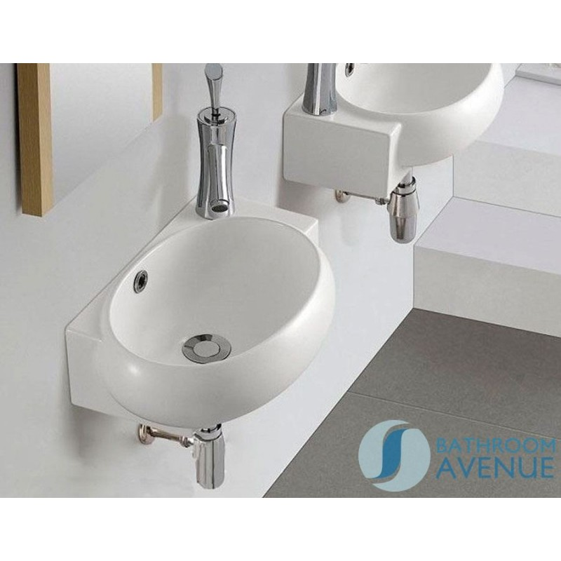 Compact Small Bathroom Counter Top Wash Basin Modern