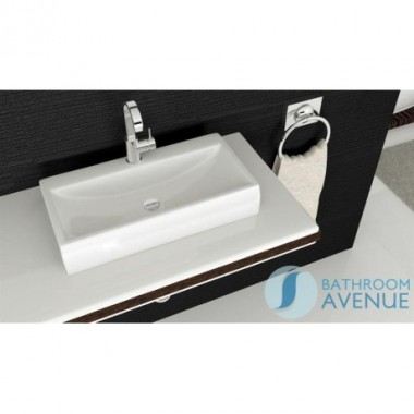 Rectangular Small Counter Top Wash Basin Modesta