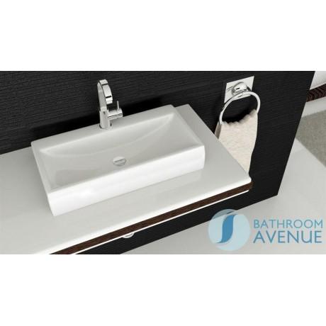rectangular counter top wash basin small modesta bathroom furniture and decor store uk