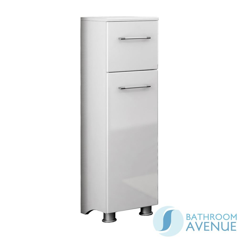Bathroom Laundry Hamper Freestanding Cabinet Marea