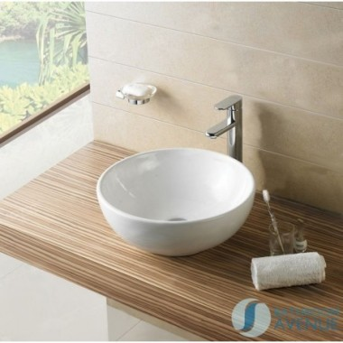 Small Counter Top Wash Basin Round Vessel Patrizia