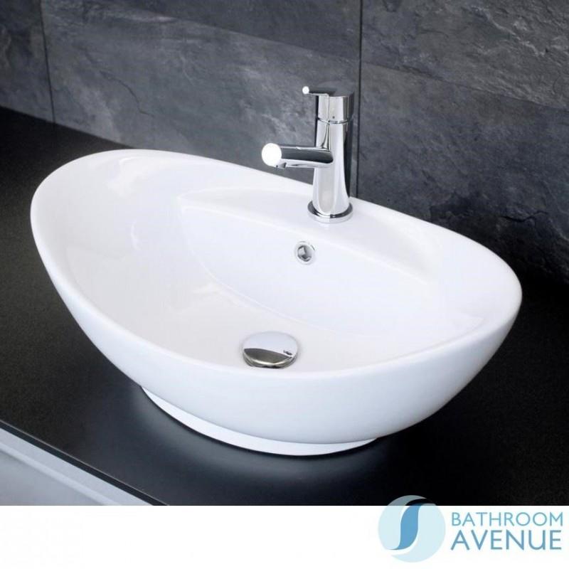 Contemporary Counter Top Wash Basin Oval Domenica Online