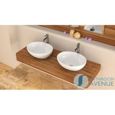 Small Counter Top Basin Oval Sophie