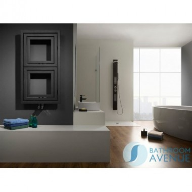 Designer Modern Vertical Horizontal Bathroom Radiator