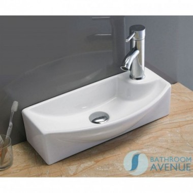 Ultra Small Cloakroom Wash Basin Gianna