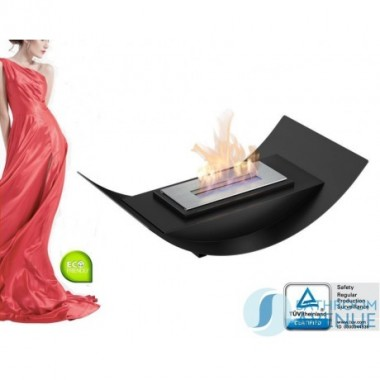 Tabletop bioethanol fire small