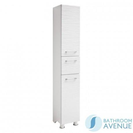 White Freestanding Tall Bathroom, Tall Bathroom Linen Cabinet With Hamper