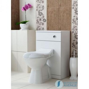 Back to wall toilet unit gloss white Bibiana