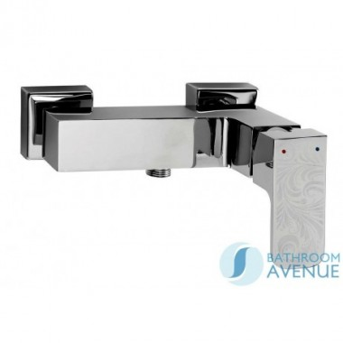 Contemporary single lever shower mixer tap Azalea