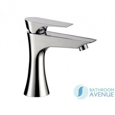 Designer Mono basin mixer tap Chrome Diva