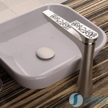 Designer counter top basin mixer tap tall Decora Diva