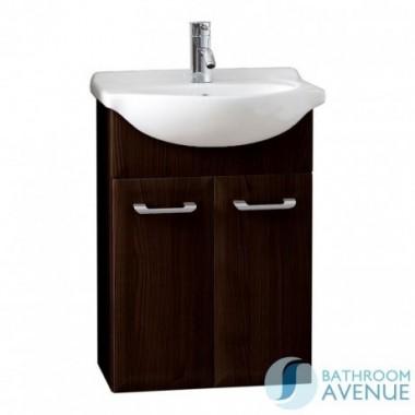 Contemporary modern vanity basin unit gloss wenge Bibiana