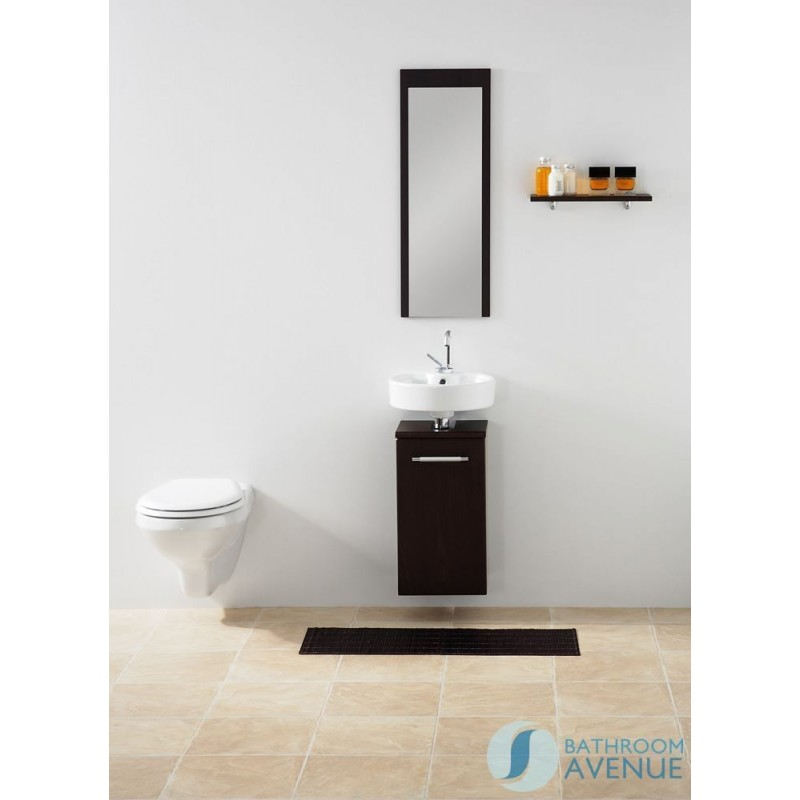 narrow bathroom vanity units.  Cloakroom Compact Vanity Unit Wall Hung Wenge Marea Small Bathroom Sink