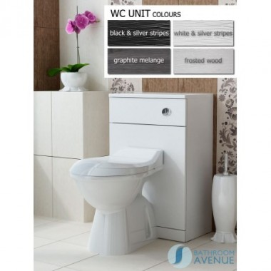 Back to wall toilet unit Tramonto